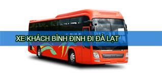 Xe khách Bình Định đi Đà Lạt