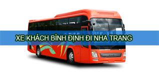 Xe khách Bình Định đi Nha Trang