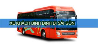 Xe khách Bình Định đi Sài Gòn