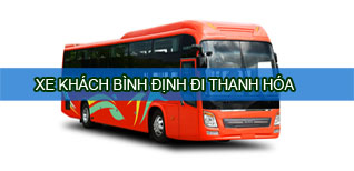 Xe khách Bình Định đi Thanh Hóa